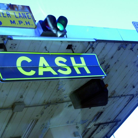 Illinois tolls require cash payments.