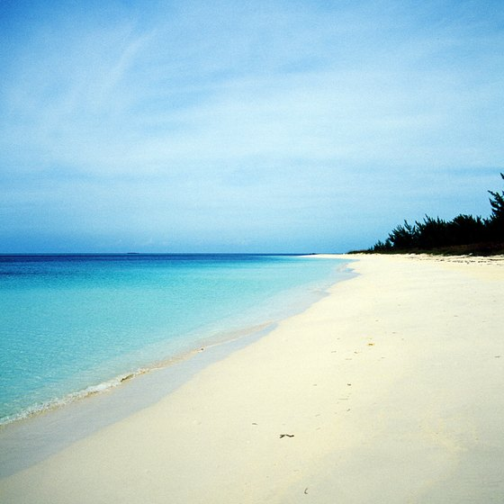 Nassau's private beaches are located within its resort communities.
