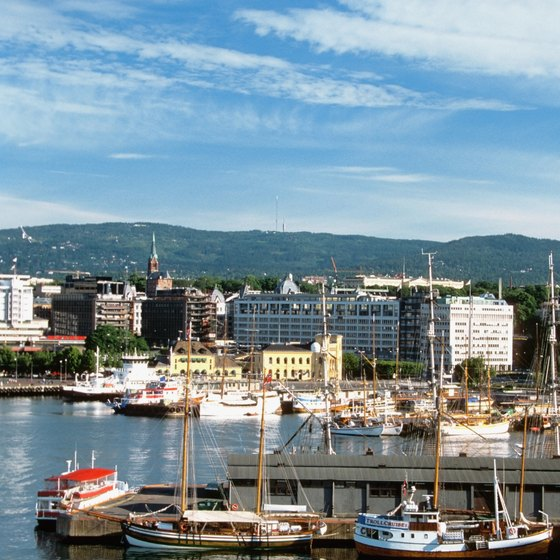 Oslo, Norway, is usually the first stop for vacationing visitors.