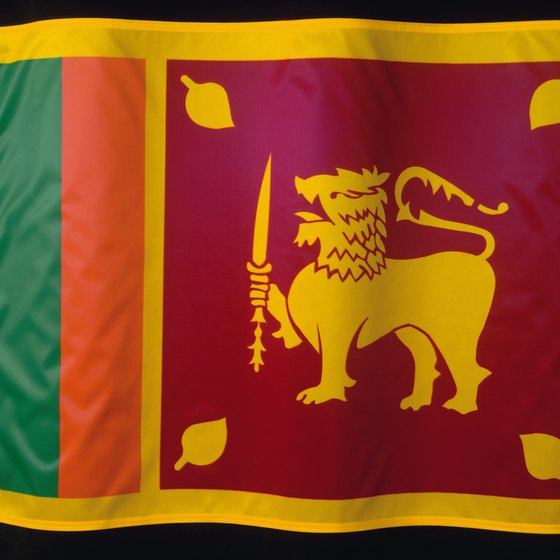 Sri Lanka's flag depicts the Sri Lankan lion, once native to Sinharaja Forest.