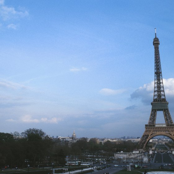 The Eiffel Tower ranks among Europe's most recognizable landmarks.