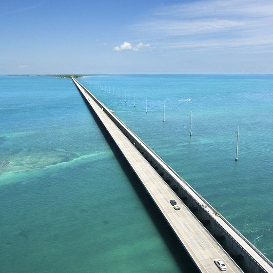 Florida's famed Overseas Highway links the Keys to the mainland.