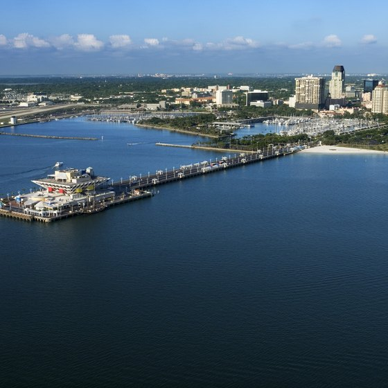 Perched along Tampa Bay, St. Petersburg provides a romantic setting for travelers.