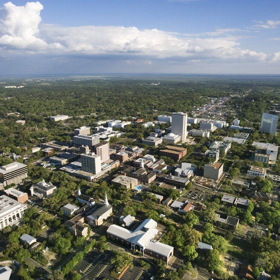 Tallahassee is a city with a small-town feel.