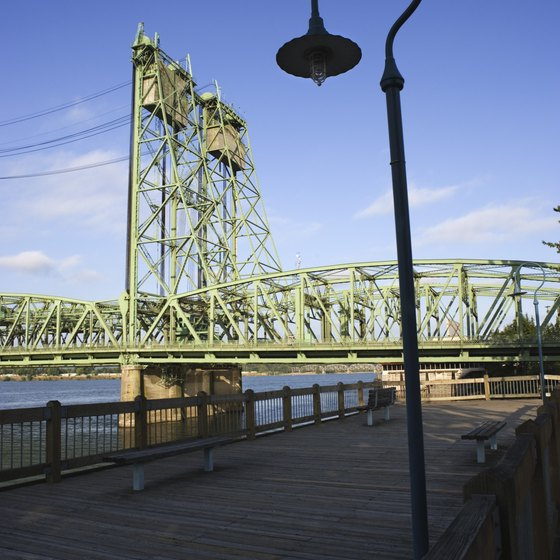 Portland is known as the City of Bridges.