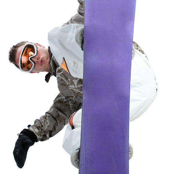 Terrain parks in the Muskegon area hone your extreme boarding skills.