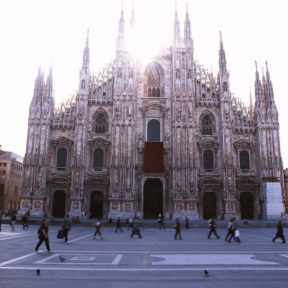 Northern Italy has towering cathedrals and bustling squares for tourists who want to experience Italian history and culture at once.