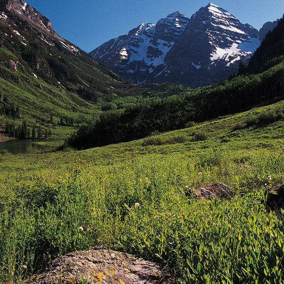 Aspen is surrounded by mountain wilderness on three sides.