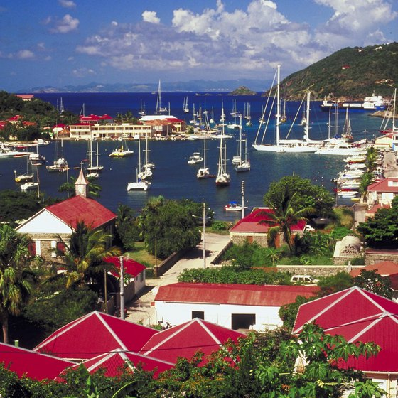 Small islands such as St. Barts are considered safe.