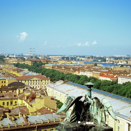 St. Petersburg, Russia is one of the northernmost cruise destinations in Eastern Europe.