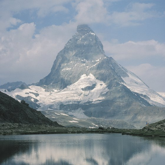 Switzerland's scenery, like the world-famous Matterhorn, is breathtaking.