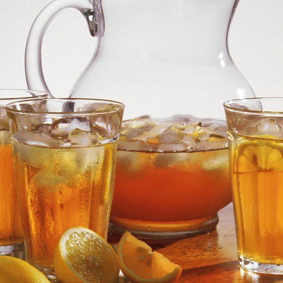 Try the southern staple, sweet iced tea, available at all of these restaurants.