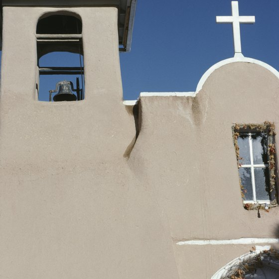 Adobe buildings epitomize New Mexico's architecture.
