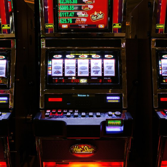You'll find thousands of slot machines in upstate New York casinos.