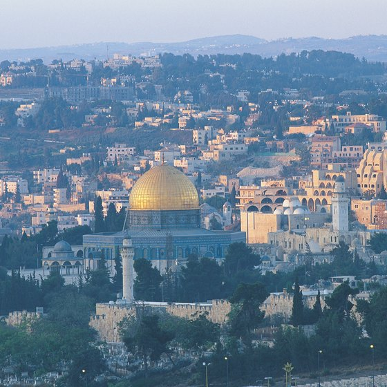 Visiting the holy city of Jerusalem is often part of singles tours to Israel.