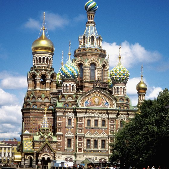 The Church on Spilt Blood was built where Alexander II was assassinated.