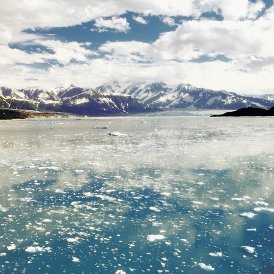Hubbard Glacier is one of many in Glacier Bay National Park and Preserve.