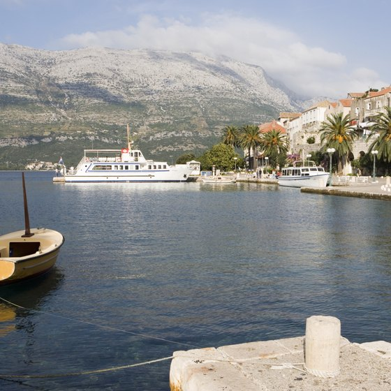 Mediterranean cruises travel many ports in countries including France, Greece and Turkey.