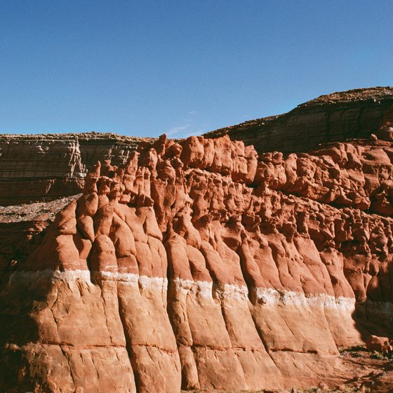 The Grand Canyon in northern Arizona is the state's most famous landform.