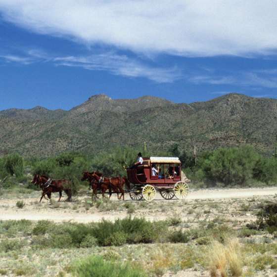 The Stagecoach at Old Tucson draws visitors to the area.