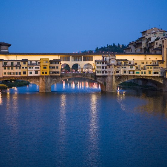 Cross the Ponte Vecchio for a romantic walk and authentic restaurants.