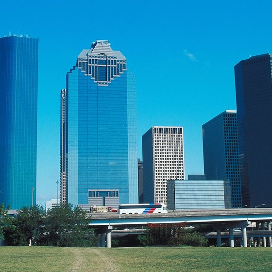 Humble is about 20 minutes from downtown Houston.