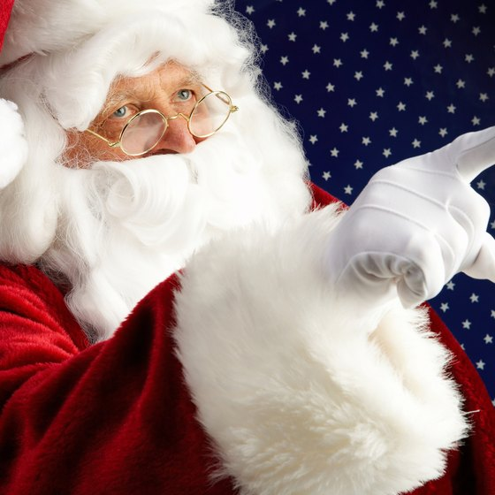 Visit Santa all summer at Holiday World in Santa Claus, Indiana.