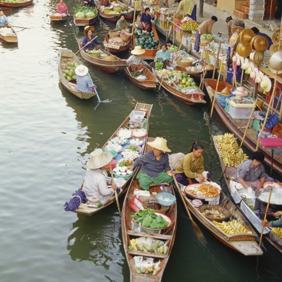 Some tiger tours also include a trip to the Damnoen Saduak Floating Market.