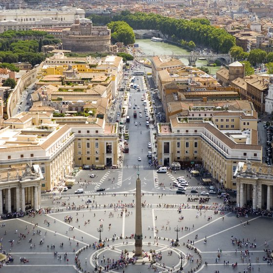 The Vatican is a popular stop on many tours around Rome.