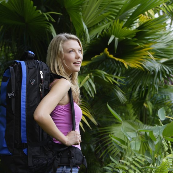 Choose a comfortable pack for your jungle trek.
