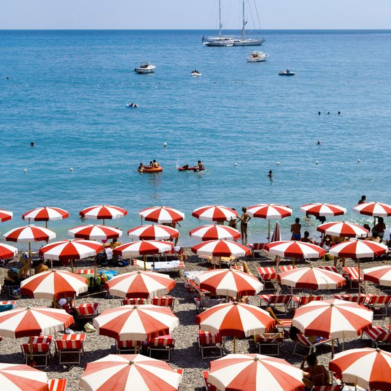 Italy is a sunbather's paradise.