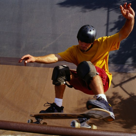 Visit one of Virginia's skate parks.