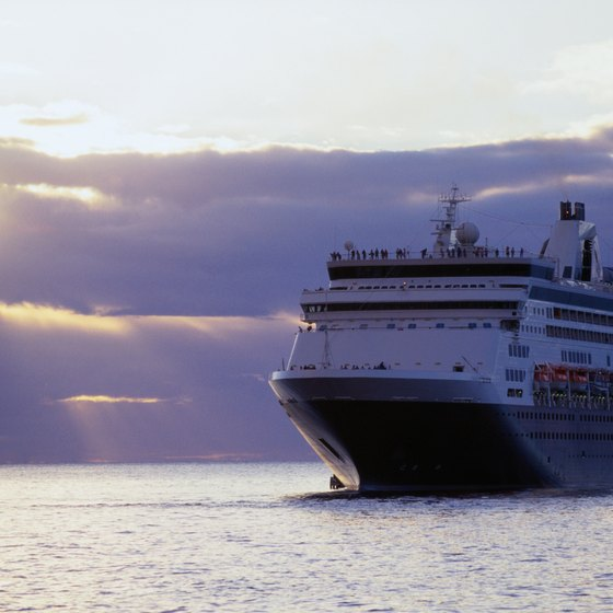 Set sail on a cruise and make new friends while seeing the world.