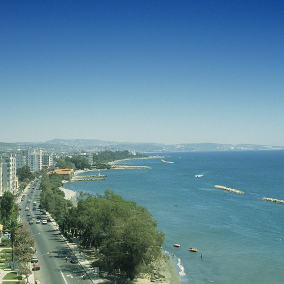 Limassol in Cyprus has beautiful beaches and many tourist attractions.