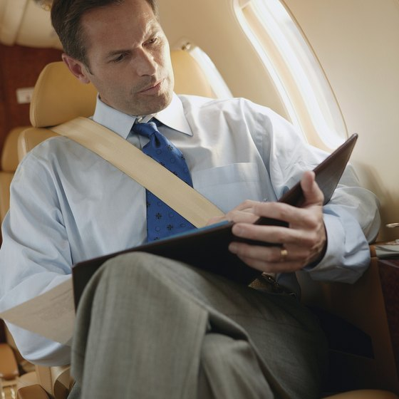 Charter flights can range from leather club seating to basic bench-style seats depending on the airplane.