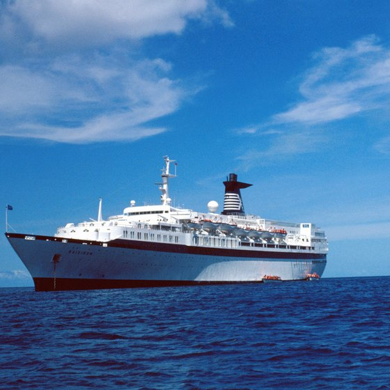 Passengers on a repositioning cruise spend 10 days or longer at sea.