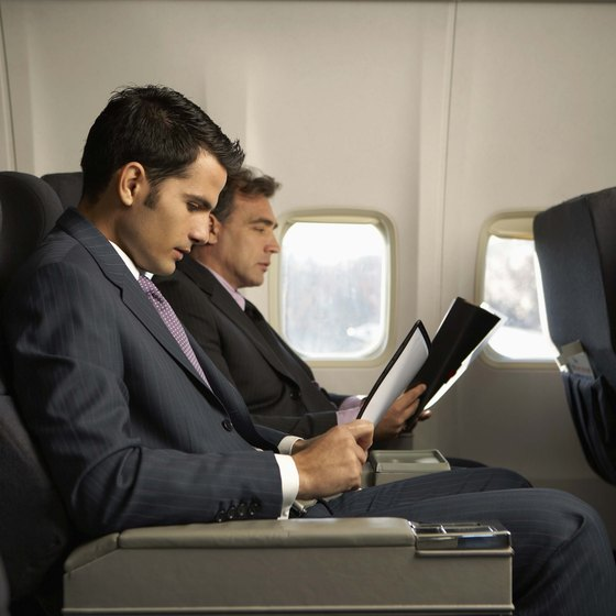 Medical experts advise that you do not stay in your seat during the entire duration of a long flight.