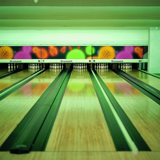 Bowling is an affordable family activity in Myrtle Beach.