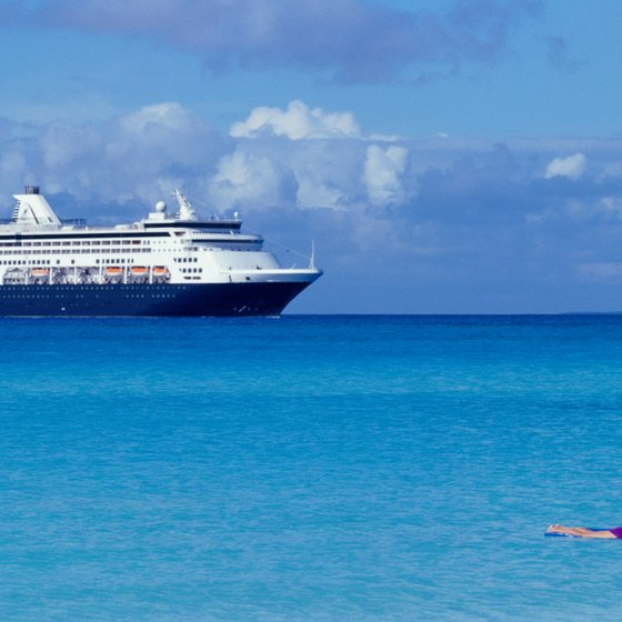 The Caribbean is a popular winter cruise destination from Florida.