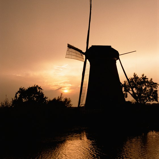 Exploring canals in The Netherlands is popular on escorted tours.