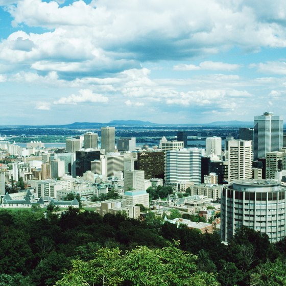 Montreal is a melting-pot city with many cultural influences.