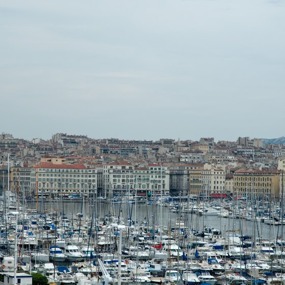 Marseille remains an important port city.