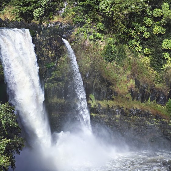 Rainbow Falls is one of the the many attractions near Hilo.