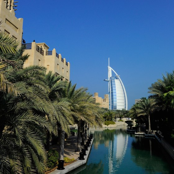 Burj Al Arab is one of Dubai's significant landmarks.