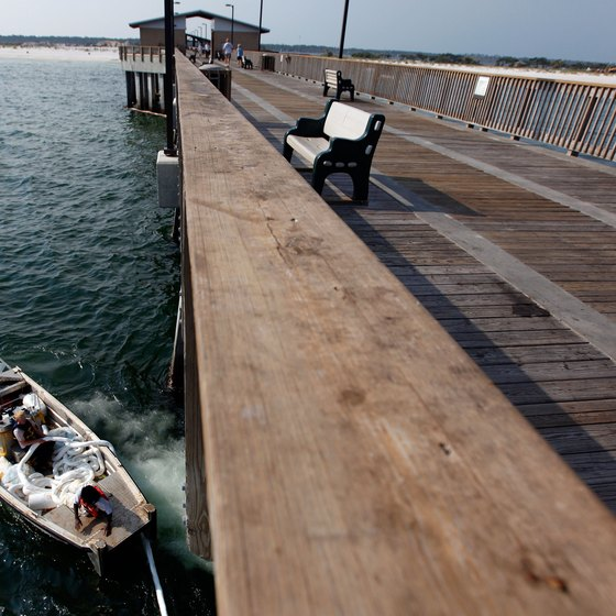 The pier at Gulf State Park is said to be the largest on the Gulf of Mexico.