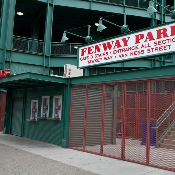 Fenway Park in Boston is the oldest Major League Baseball stadium still standing.