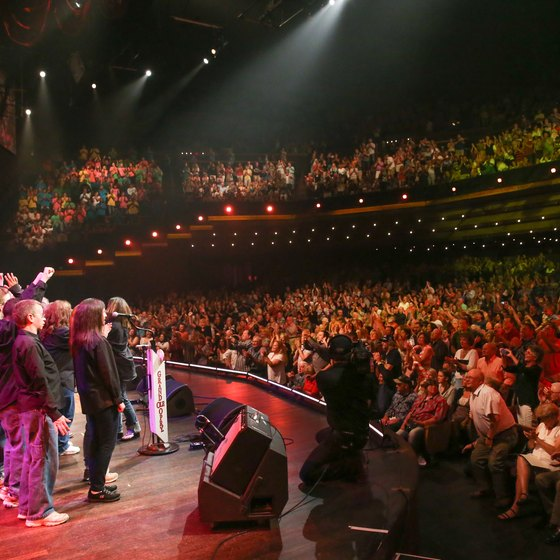 """The Opry"" produces one of the world's longest-running live radio broadcasts."