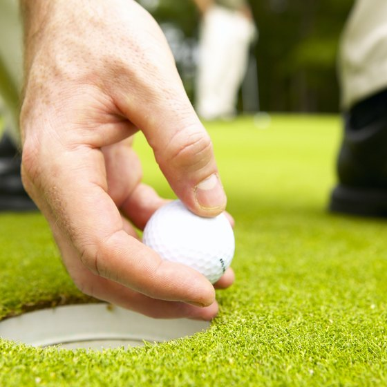 Great golfing is among the Chesterfield Township area's leisure options.