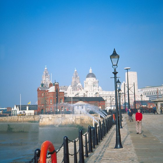Liverpool, in northern England, has a working waterfront and became a household name as the home turf of The Beatles.