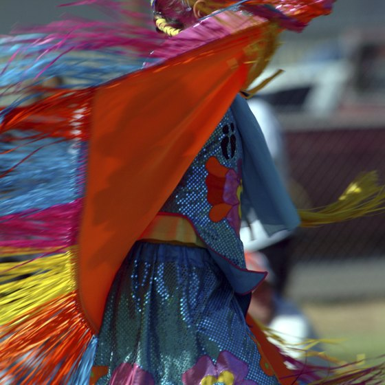 Visit Ignacio in June, when tribal colors are on full display at the annual powwow.